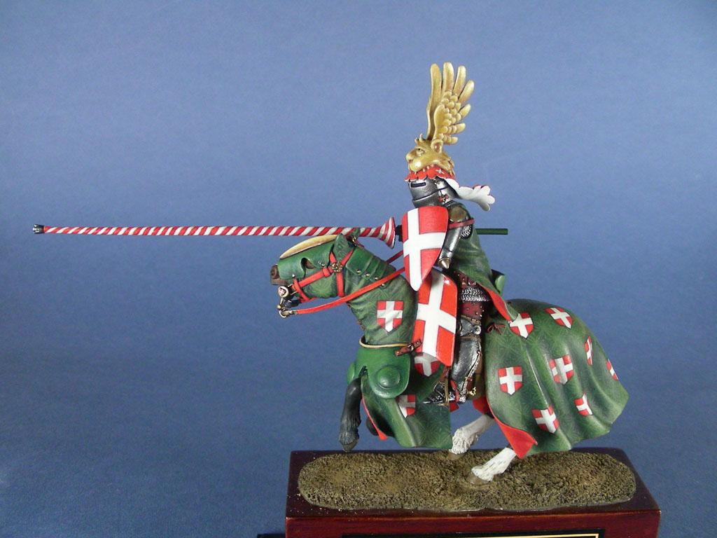 Amedeo VI di Savoia detto 'il Conte Verde' al torneo di Bourg-en-Bresse, 1356