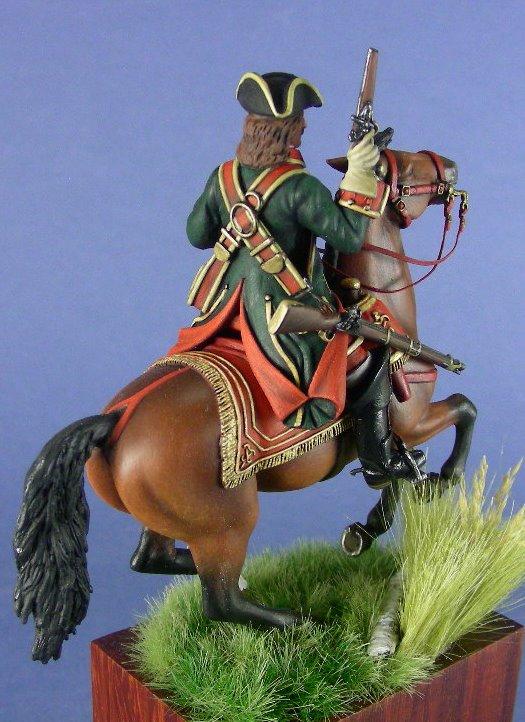 Dragone delle Guardie del Corpo dello Zar di Russia Pietro il Grande,1724.