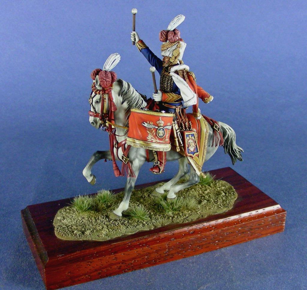 Cacciatori a Cavallo della Guardia, timballiere, 1810.