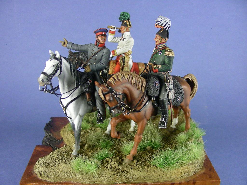 I Tre Sovrani. Battaglia di Lipsia, 18 ottobre 1813