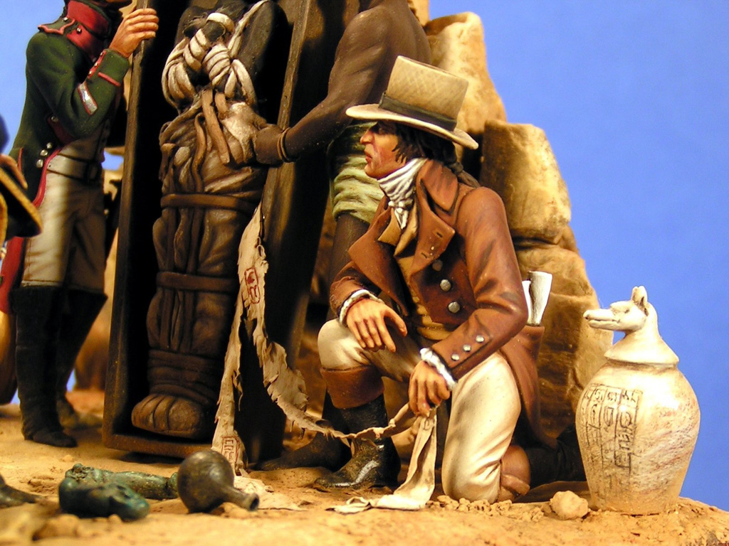 Bonaparte e la mummia