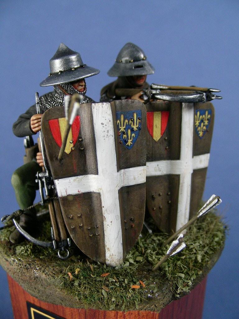Balestrieri francesi intorno al 1415