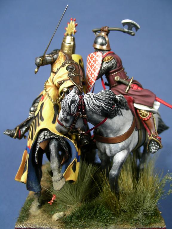 Guelfi e Ghibellini, Cavalcanti contro Barbolani di Montauto