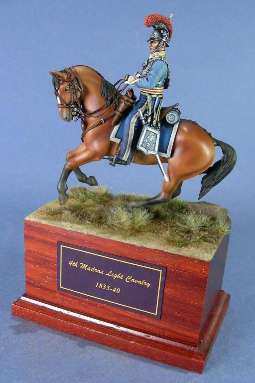 4th Madras Light Cavalry, ufficiale.