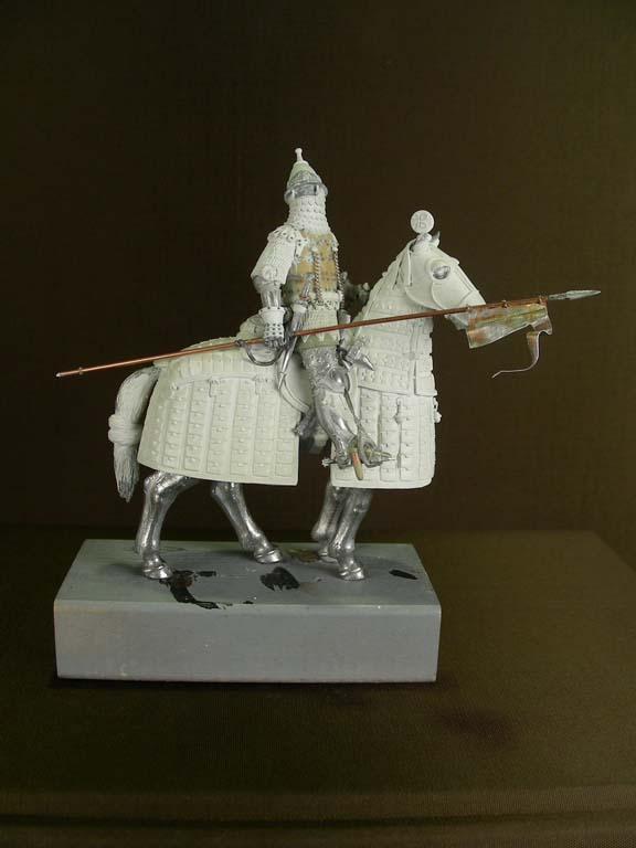 Cavaliere pesante russo, battaglia di Kulikovo, 1380.