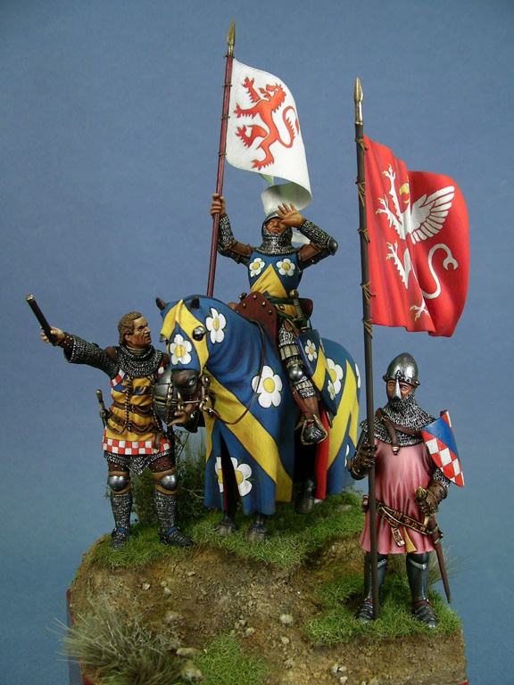Le bandiere di Perugia guelfa nel 1335