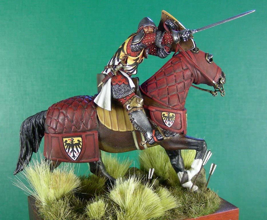 Ottone Doria, comandante di balestrieri genovesi; Crécy, 1346