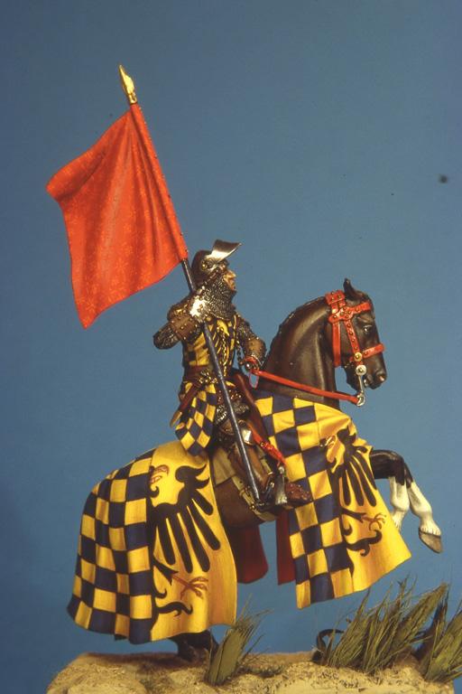 La bandiera della città di Pisa portata da Petrilla degli Uberti