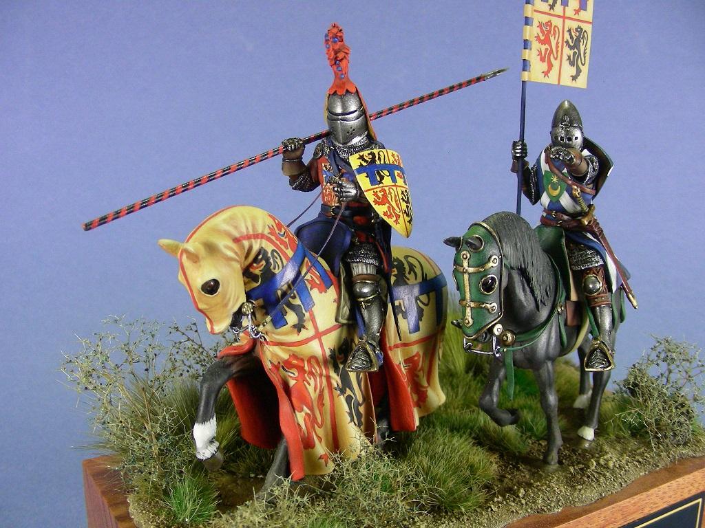 Jean d'Hainaut alla battaglia di Crécy, 1346