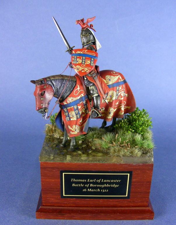 Thomas, Earl of Lancaster. Battaglia di Boroughbridge, 16 marzo 1322