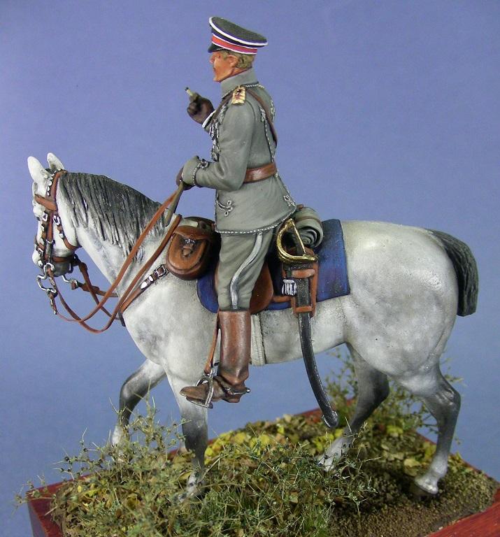 Wilhelm Kronprinz di Germania, 1918.