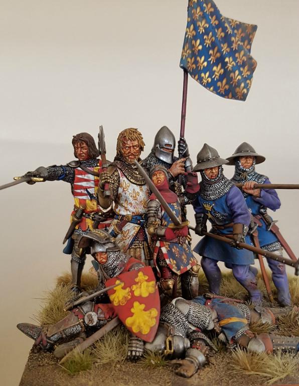 Le Bon et l'Hardì a Poitiers, 19 settembre 1356