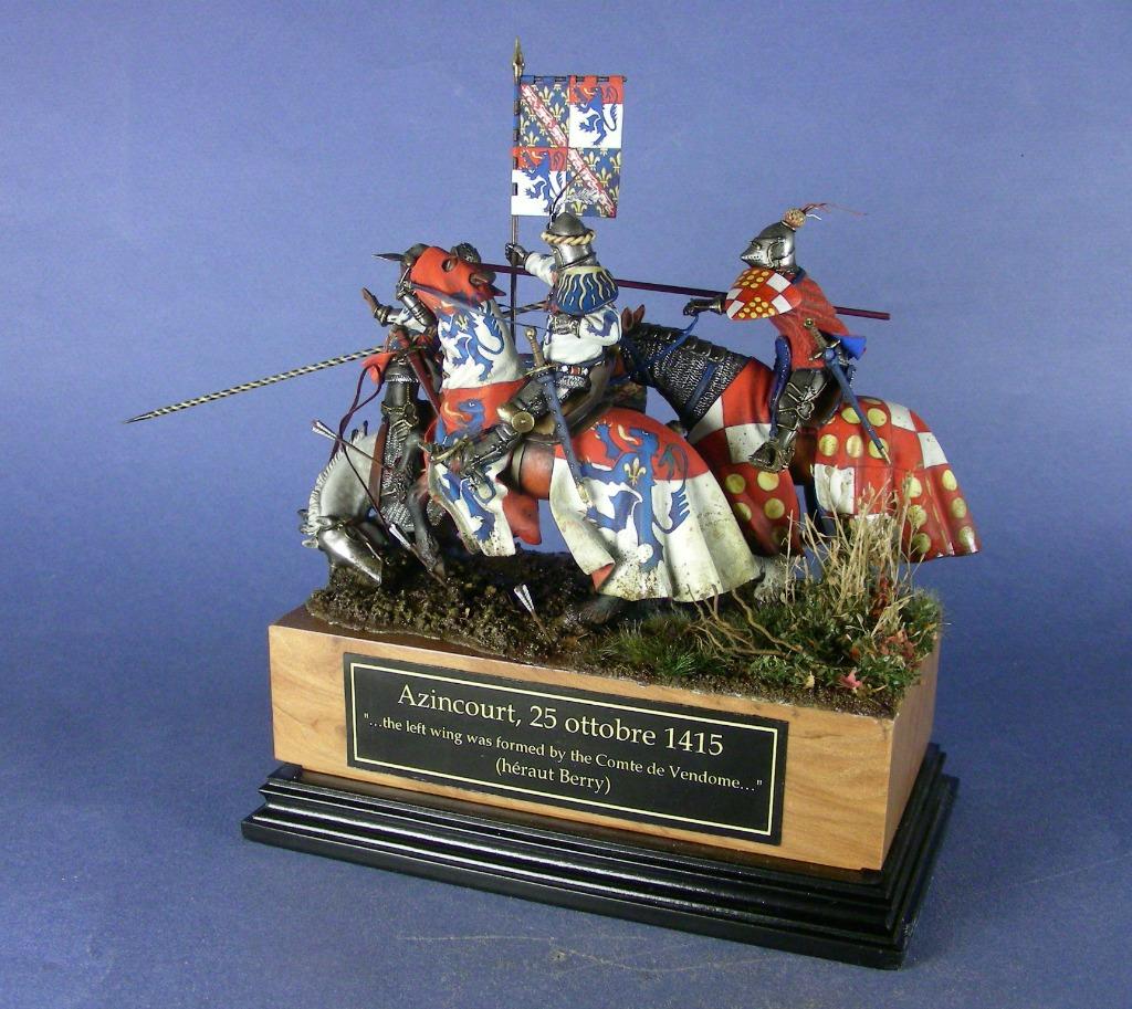 Il conte di Vendome guida la carica della cavalleria francese
