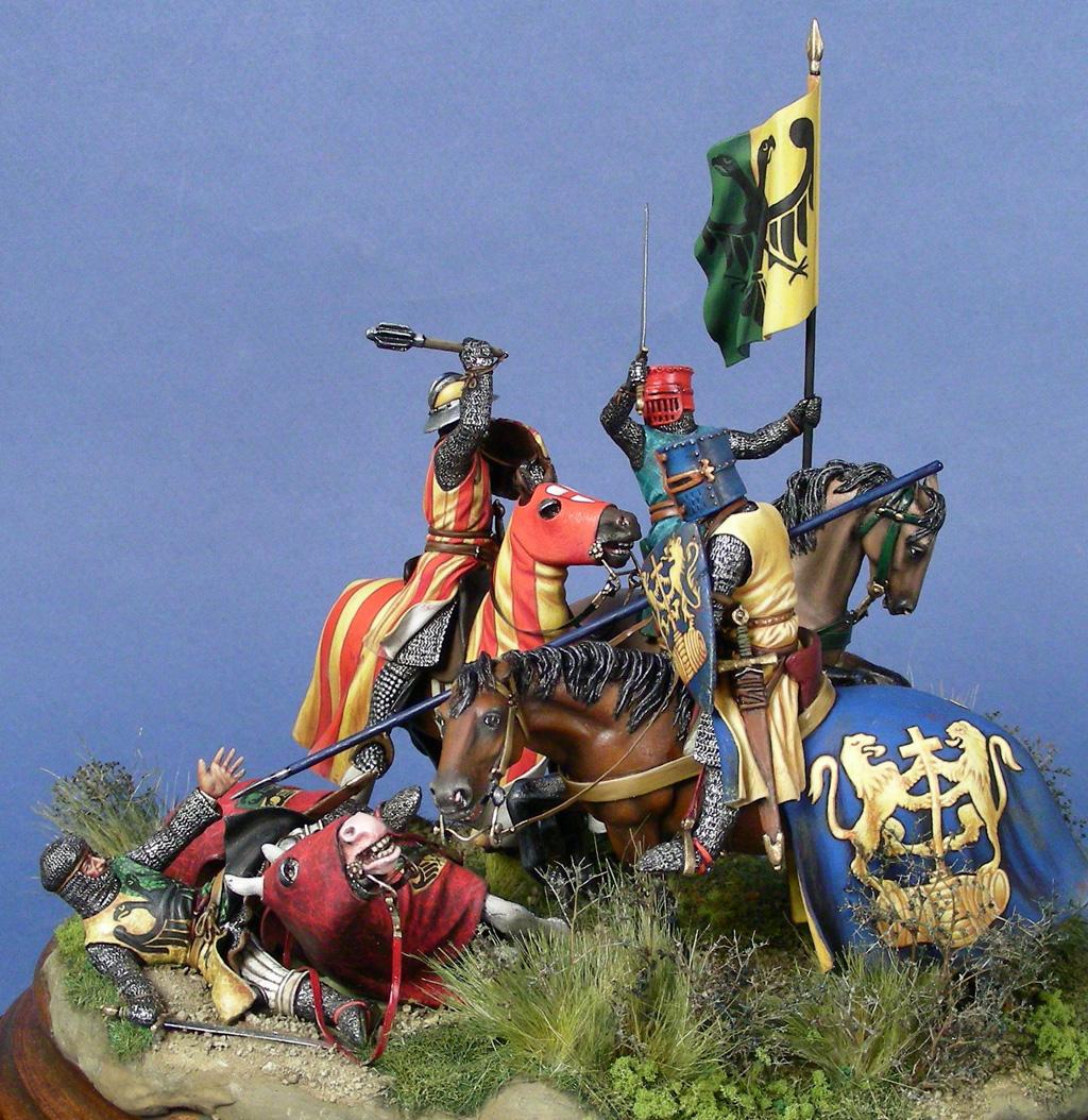 Cattura di Enzo, re di Sardegna alla battaglia della Fossalta, 1249