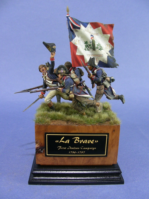 La Brave, 1796-1797
