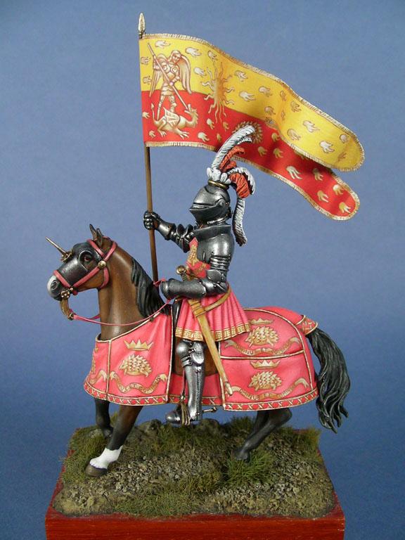 Stendardo del re di Francia Luigi XII nel 1507