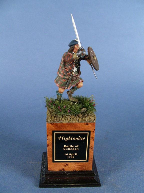 Highlander alla battaglia di Culloden, 1746