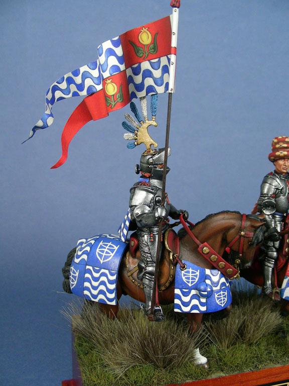 Il condottiero Micheletto Attendolo Sforza alla battaglia di Anghiari, 1440