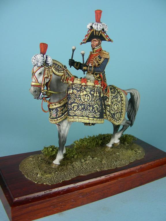 Timballiere dei Granatieri a Cavallo della Guardia, 1813