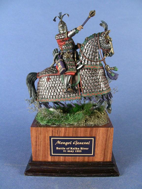 Generale mongolo. Battaglia del fiume Kalka, 1223.