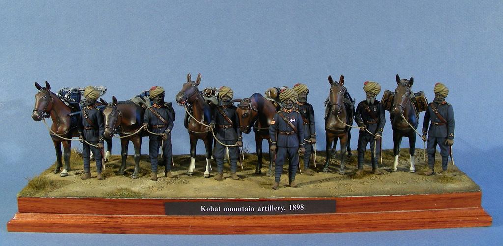 Reparto della Kohat Mountain Artillery