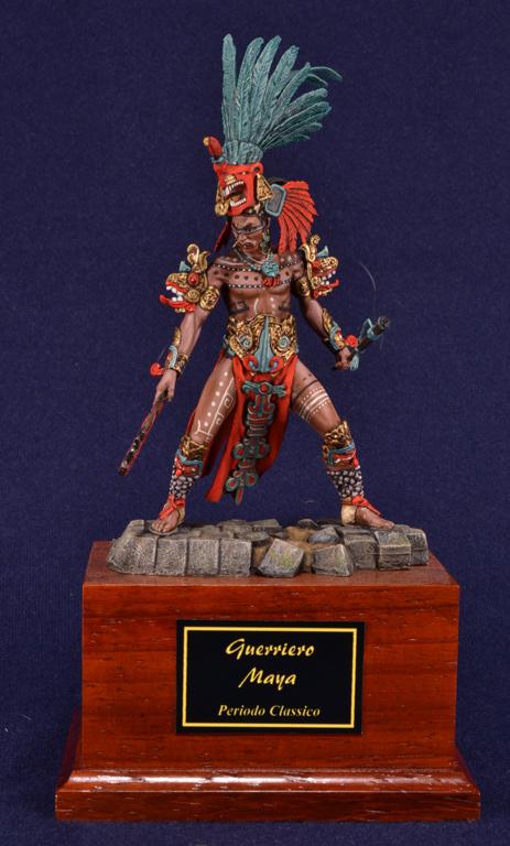 Guerriero Maya, 200dc-900dc.