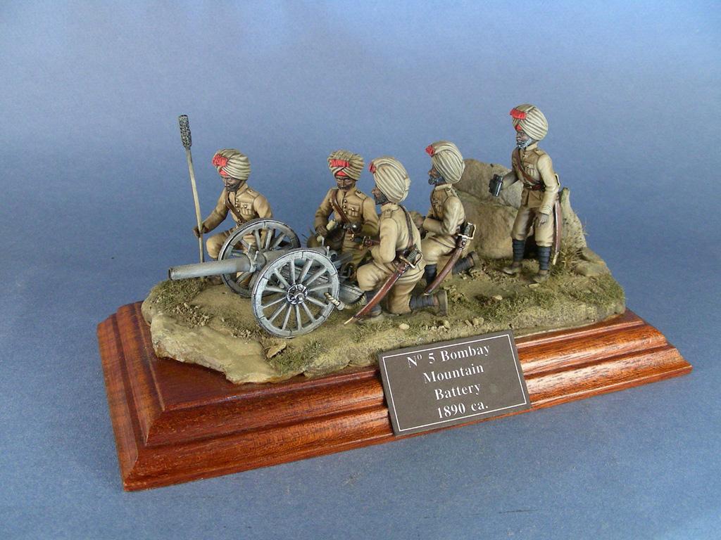 Batteria n° 5 della Bombay Mountain Artillery
