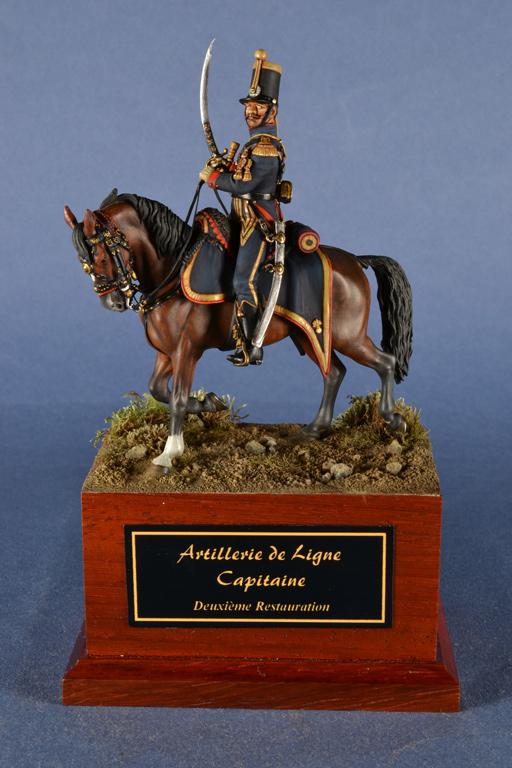 Artillerie de Ligne, capitano, Regno di Francia, Seconda Restaurazione, 1815-1830