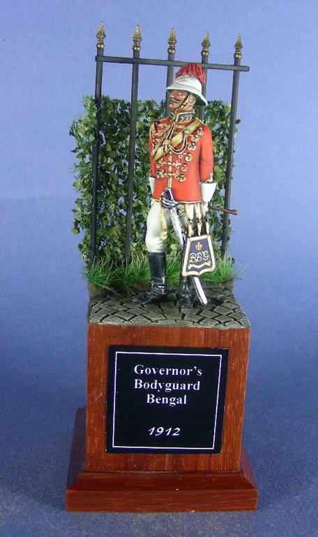 Governor's Bodyguard, Bengal, ufficiale britannico, 1912