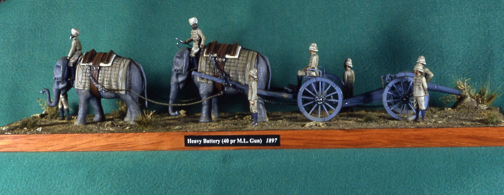 Artiglieria pesante (40 pr. M.L. gun), 1897