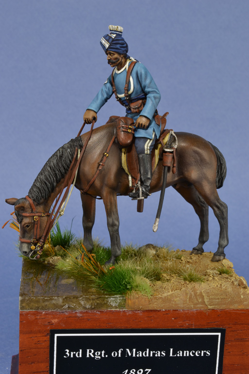 3rd Rgt. of Madras Lancers, daffadar (sergente), 1897